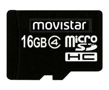 Transcend Movistar 16GB microSDHC, Class 4 Memory Card, Retail Packing
