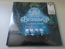 "ENTOMBED ""LIVE CLANDESTINE"" BLUE VINYL DOUBLE LP NEW SEALED"