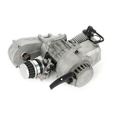 2Takt Motor 49CC DirtBike Cross Pocketbike Kinderquad mit Mini Getriebe Vergaser