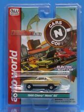 AUTO WORLD Thunder jet #4 1966 CHEVY NOVA SS GOLD CARS N COFFEE HO Scale