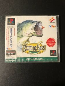 Exciting Bass Fishing Sony Playstation PS1 JAPAN IMPORT NEW SLPM-86124