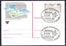 Echte Echtheitsgarantie Briefmarken-Ganzsachenaus der BRD mit Ganzsache