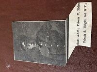 m7-4 ephemra 1915 picture ww1 harrogate soldier s wright 3rd w yorks