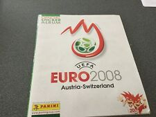 ALBUM complet  panini EURO 2008  Autriche-Suisse