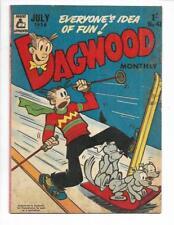 Dagwood #41 1956 Australian Skiing Cover!