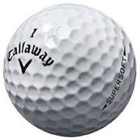 60 Callaway Supersoft Mint AAAAA Used Golf Balls