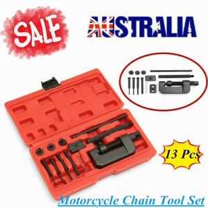 Motorcycle Chain Breaker And Riveting Tool Set Bicycle Riveting Tool AU STOCK