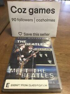 The Beatles Rock Milestones Meet The Beatles Rare Dvd Australian Release