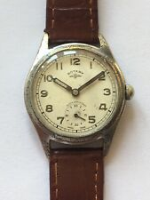 Vintage Rotary Gents Watch Peseux Cal 170