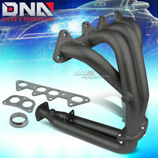 BLACK PAINT FINISHED 4-2-1 HEADER FOR 94-97 ACCORD 2.2L 4CYL CD EXHAUST/MANIFOLD