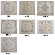 Embroidered Rectangular Table Cloths
