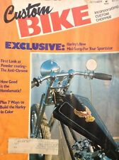 Custom Bike Magazine Harley's Mini Sump October 1976 122817nonrh