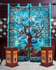 Tree of Life Indian Mandala Cotton Handmade Bohemian Windows Door Curtain Drapec