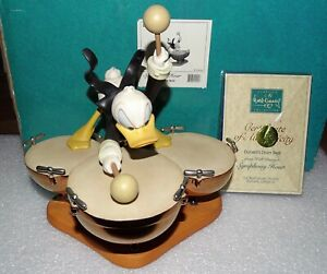 WDCC Donalds Drum Beat Disney Classics Collection Symphony Hour Damaged/Repaired