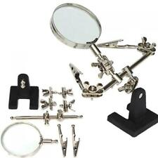 Magnifying glass Third Hand Soldering Soldering Iron Stand Helping magnifyin