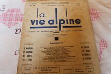 LA VIE ALPINE 18   revue du régionalisme dans les alpe française 1929