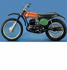 MONTESA 250 CAPPRA FIVE OPERATIONS & PARTS MANUAL for 250 5 Motorcycle Service