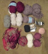 16+ Mixed lot of Knitting Yarn Chunky Marina Del Uraguay Schaeffer