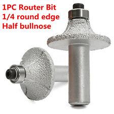 1/2'' Diamond Router Bit Wheel Half Bullnose For Hand Profiler Marble Granite