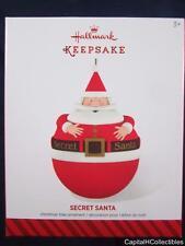 2014 Hallmark Keepsake Christmas Ornament Secret Santa hide a gift QGO1426 NIB