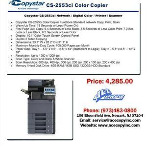 Copystar CS-2553ci Laser MFP Print/Scan/Copy Color Copier