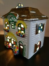 Dept 56 Vintage Snow House Series- Flower Shop #50822 Rare Original Box & Cord