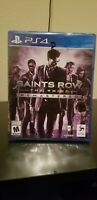 Saints Row The Third Remastered PS4 Same day Shipping read Below