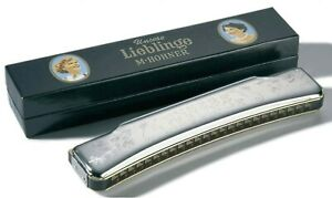 Hohner Unsere Liebling Octave 48 Harmonica Classic for Folk Music - USA Dealer