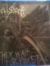 HELLSHOCK they wait for you still LP NEW discharge, entombed
