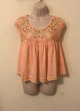 Womans Scoop Neck Shirt Size Xs By Free People Anthropologie
