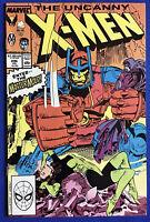 Uncanny X-Men #246 (1989) Master Mold, Sebastian Shaw & Nimrod APP; VF