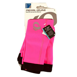 Pearl Izumi Womens Elite Thermal Arm Warmer Water Resistant Pink Size L