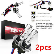 2PCS 6000K Xenon 55W Replacement HID KIT's Light Bulbs Lamps H7 Type Equipment