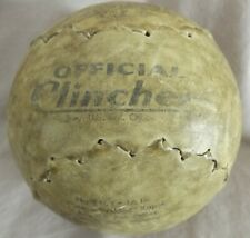 Vintage Official Clincher No. F16Y-16 In. Softball by DeBeer & Son Double Header