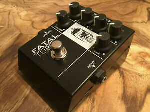 AMT Fatal Tube Distortion and Amp Sim /MINT condition with original box