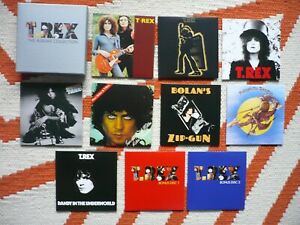 Marc Bolan & T. Rex The Albums Collection 2014 Edsel 10 CD Box Set EXC++/NM
