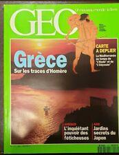 Magazine Géo Vente au numéro (cf. liste détaillée)