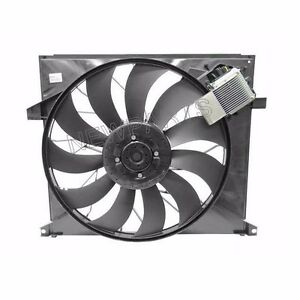For Mercedes W163 ML500 2002-2005 GENUINE Engine Cooling Fan Assembly New