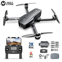 Holy Stone HS720 Foldable GPS Drone 2K Camera Brushless 5G FPV Quadcopter + Case