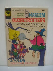 HARLEM GLOBETROTTERS #2 very fine cond: whitman comic book 1972