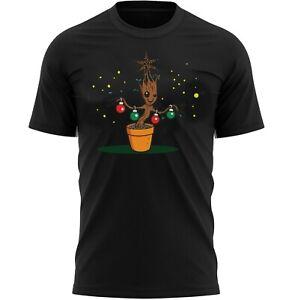 Baby Groot Tree Christmas Gift For Men Novelty T-Shirt Gift