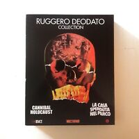 RUGGERO DEODATO COLLECTION / Bluray Cannibal Holocaust House on the Edge of Park