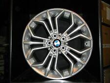 BMW X1 , Felgensatz WSP BM71 Venus (wie Styling 323)  8x18 und 9x18 glanz silber