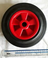 SFD Rubber Wheel - Red, 200mm