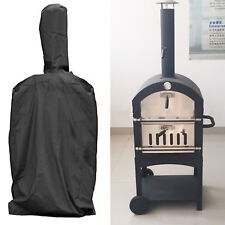 Outdoor Pizza Oven Wood-Fired Charcoal Fired Bread Oven Smoker BBQ Rain Cover UK
