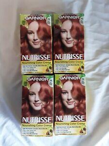 4 Box 76 - Rich Auburn BlondeGarnier Nutrisse Nourishing Color Creme