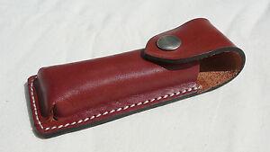 Magazintasche (Patronentasche) – Gürteltasche - echt Leder – braun