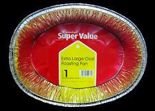 Foil Turkey Roasting Meat Tray (Pack of 6) L-4680mm x W-355mm x D-85mm Approx
