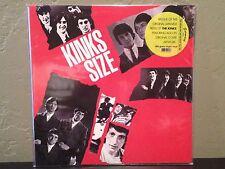 The Kinks - Kinks Size LP vinyl record NM earmark Japan Cover Reissue