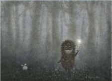 Hedgehog in the Fog Y.Norstein's/Norshteyn hand-signed Giclée (Hedgehog&Firefly)